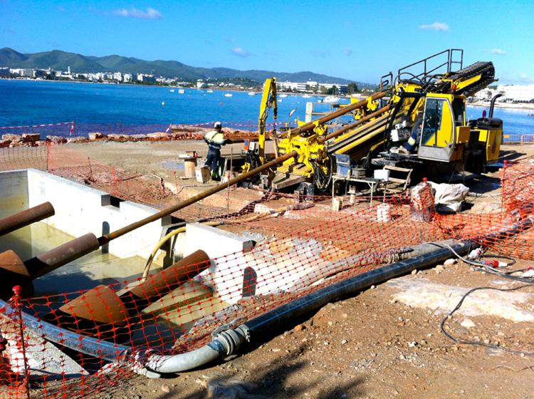 Trabajos de Catalana de Perforacions