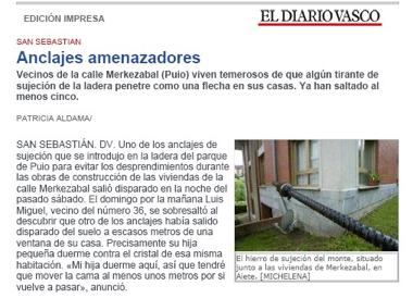 Información del Diario Vasco 20 junio 2007