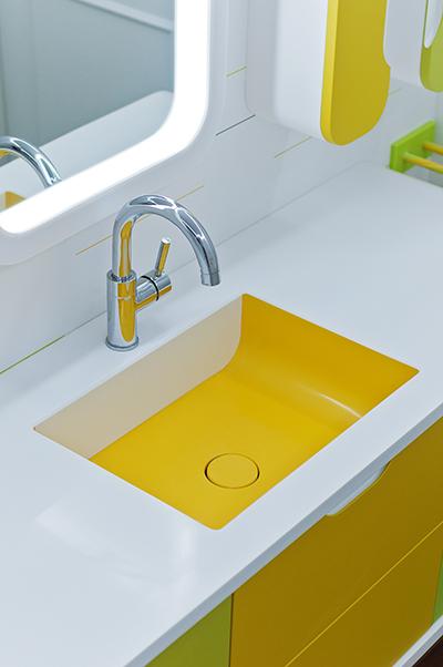 Lavabo del baño Hi-Macs®