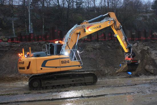 Göteborgs Gräv y Maskin AB, Suecia, elige excavadoras Liebherr por su comodidad excepcional para el operador