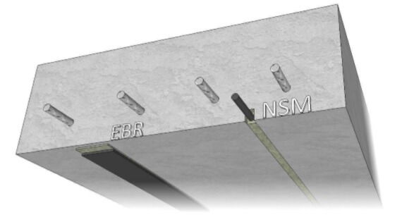 Refuerzo a flexión por el sistema NSM (Near Surface Mounted)