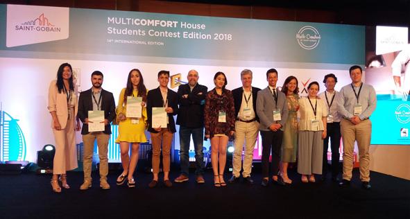 Dubái acoge la final del Concurso de Estudiantes MultiComfort House