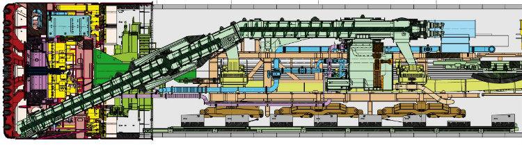 Tuneladoras de densidad variable: combinación de dos tecnologías de excavación para suelo blando