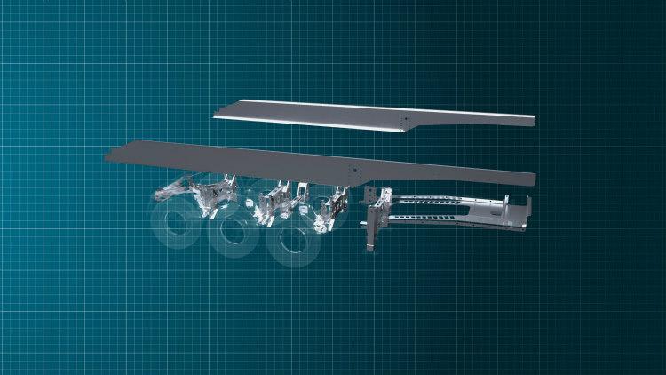 Mantella presenta una caja basculante con Strenx 960 y Hardox 500 Tuf