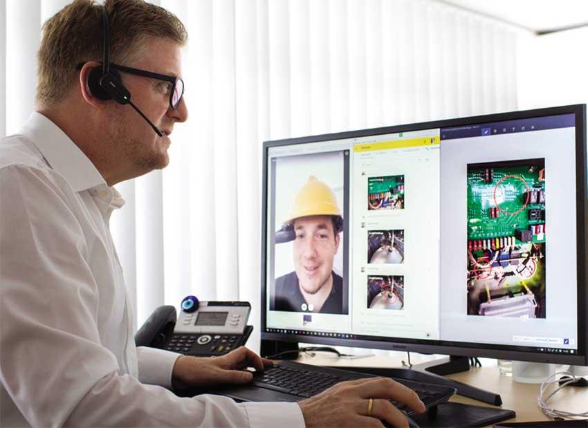 Ayuda de expertos: El Asistente de Servicio Remoto de Bomag