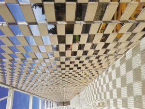 El tejido cerámico Flexbrick en el nuevo centro de diálisis de Toulouse