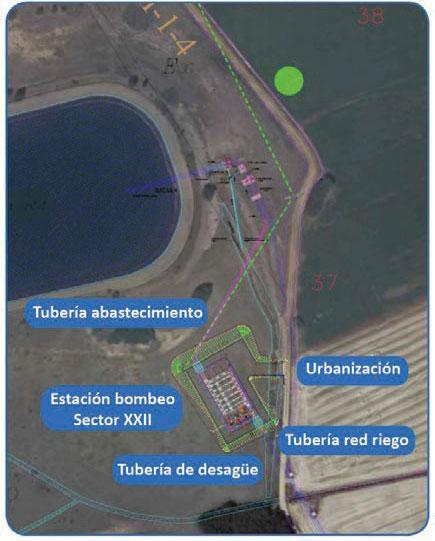 Transformación en Regadío del Sector XXII de la Subzona de Payuelos - Fig.2