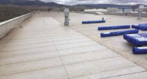 Impermeabilización de cubierta DECK en Mubea Iberia en Ágreda, Soria - 6