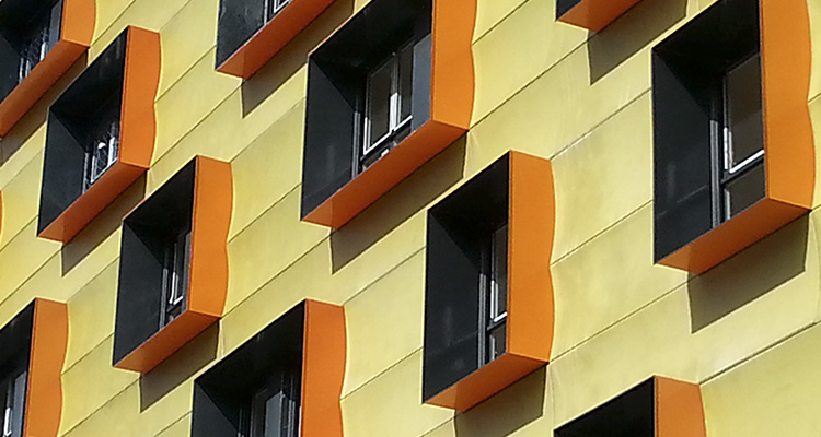 Isover - edificio de VPO con calificación energética A