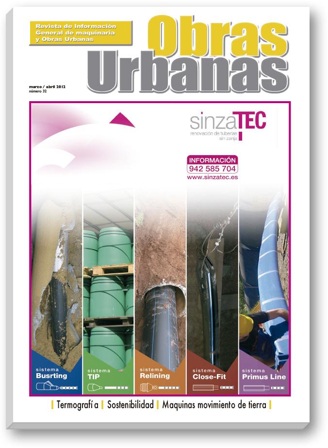Revista Obras Urbanas número 32