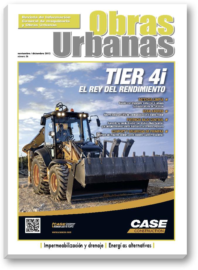 Revista Obras Urbanas numero 36 - CASE