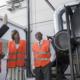 Embajadora de Dinamarca - mayor planta de biomasa
