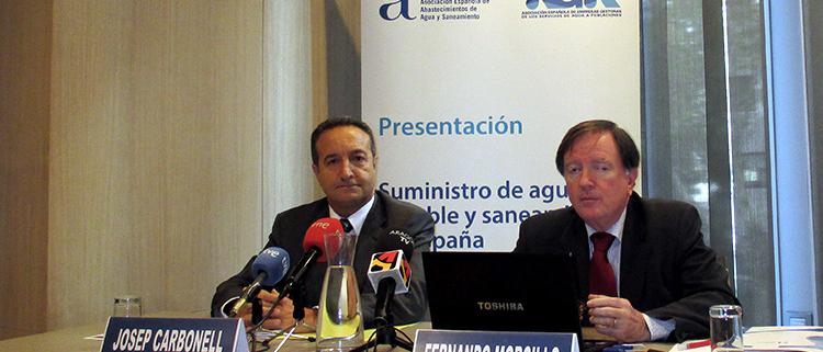 Josep Carbonell y Fernando Morcillo