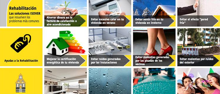 Aplicación On Line ISOVER Rehabilitación