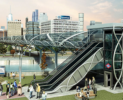 Movilidad Urbana - ThyssenKrupp