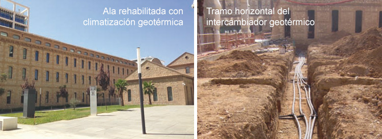 Rehabilitación Geotérmica 9 de Octubre (Valencia)