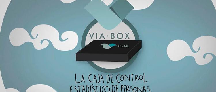 VIAVOX la caja de control estadistico de personas