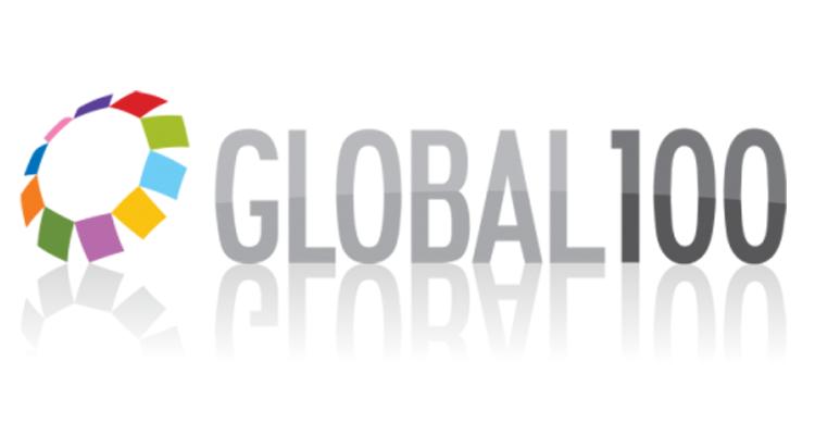 "Logotipo ""Global 100"""