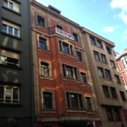Fachada del edificio de Gijón