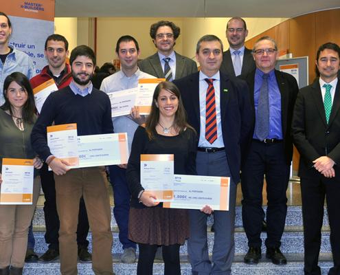 Galardonados en los premios BASF 2014