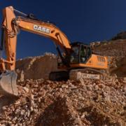Excavadora Seria D trabajando