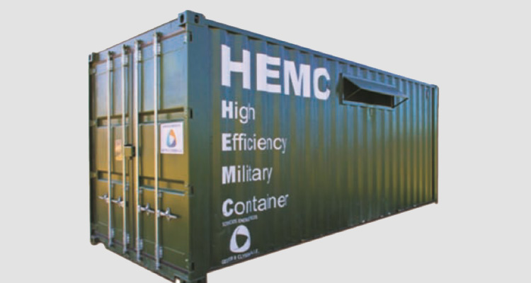 High Eficiency Military Container