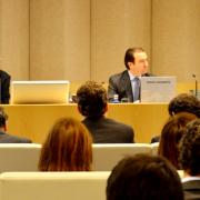 De izquierda a derecha: Mark Chown, Borja Carabante y José Ramón de Hoces,