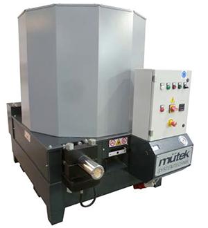 Máquina briquetadora de grandes dimensiones