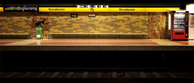 Estación Barceloneta del Metro de Barcelona