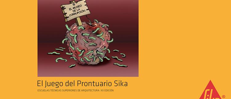 """Cartel premio Sika """"El museo de la corrupción"""""""
