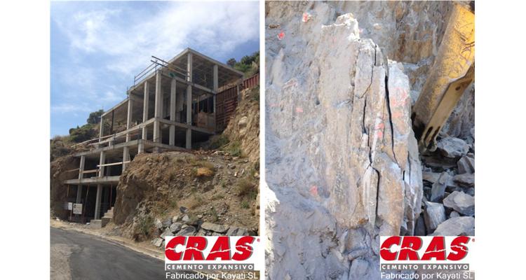Demolición con cemento CRAS