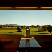 Interior de un tren de alta velocidad