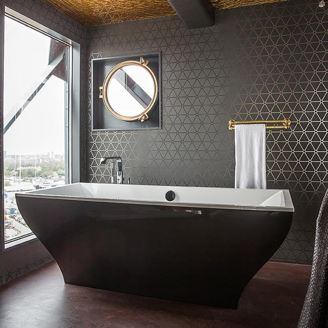Bañera de Villeroy & Boch en el Hotel
