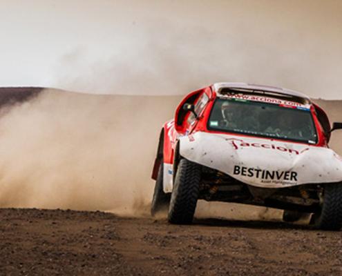 Coche 100% eléctrico que competirá en el Dakar 2015