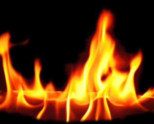 Fuego, llamaradas