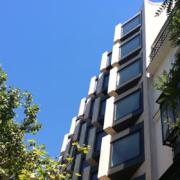 Fachada del edificio Génova 17, en Madrid