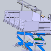 Plataforma elevadora de ThyssenKrupp diseñada para Airbus