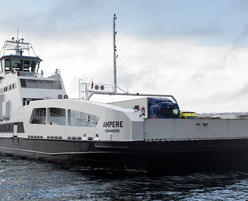 Primer Ferry Eléctrico con sistema de propusión de Siemens