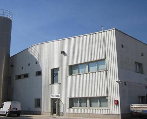 Fábrica de Tudela, ahora de Danosa