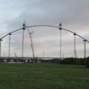 Calatrava-Puente Margaret McDermott Primer arco