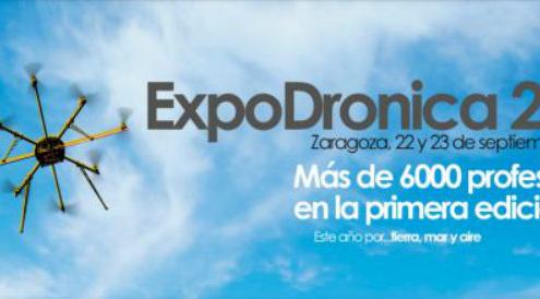 DJI, líder mundial en fabricación de drones, estará presente en Expodrónica 2016