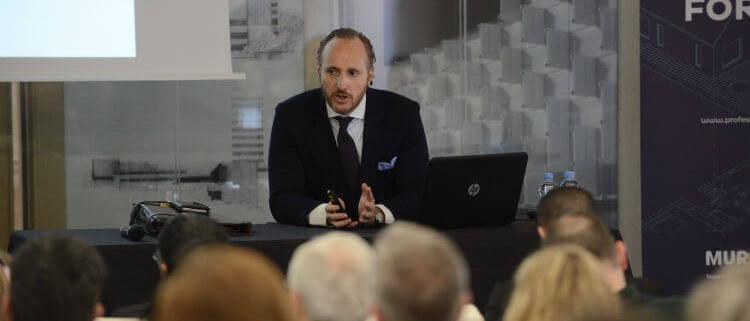 Ricardo Cañada, ponente de la Jornada sobre patologías de las humedades