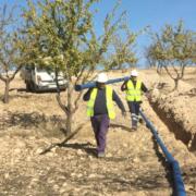 Saint-Gobain PAM España utiliza la gama Blutop para el abastecimiento de agua potable en Hernán Valle