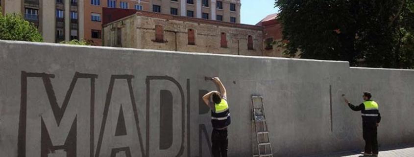 Elimina graffitis en tres minutos sin dejar ni rastro