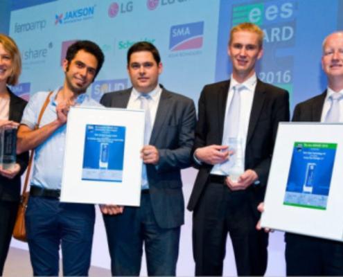 SMA Solar Technology AG obtiene el ees Award y el Intersolar Award