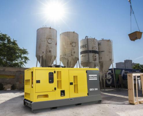 Atlas Copco amplía su gama de generadores portátiles QES