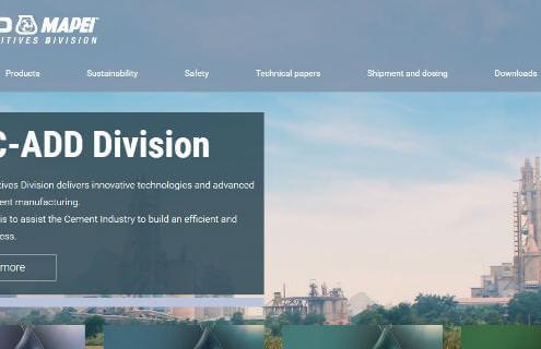 Mapei renombra su división de aditivos para cemento
