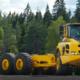 Dúmper en chasis Volvo: previsto para sus actividades de transporte de material