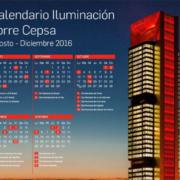 La Torre Cepsa celebra la inauguración de los Juegos Olímpicos de Río