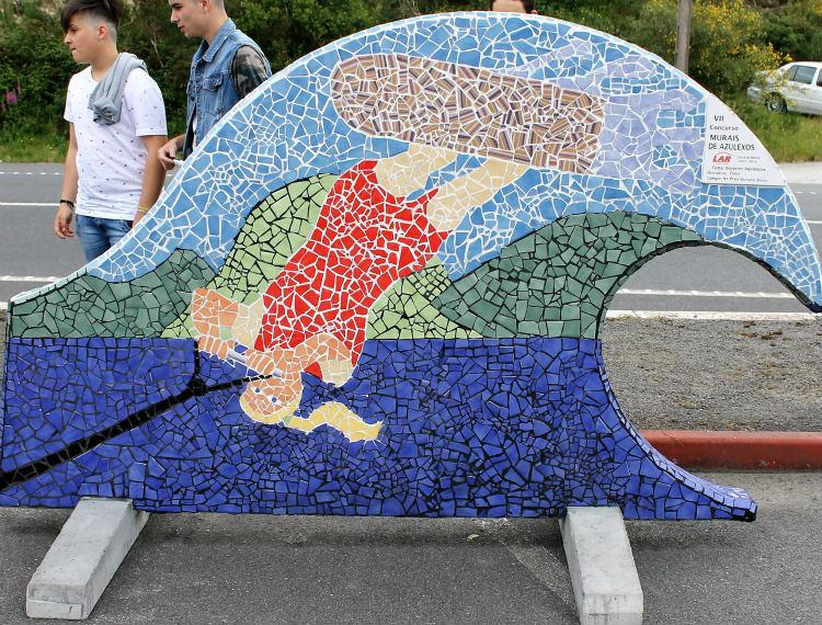 Mapei patrocina el vii concurso de murales de azulejos lar - Murales de azulejos ...